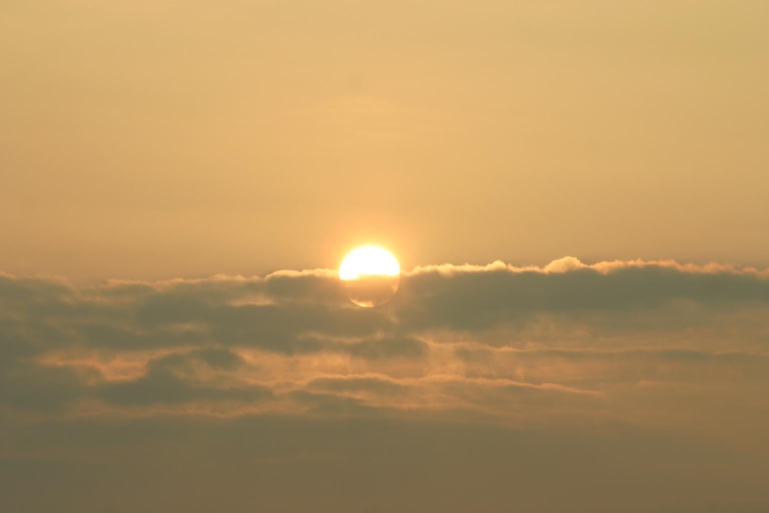 Sonnenuntergang Insel Neuwerk