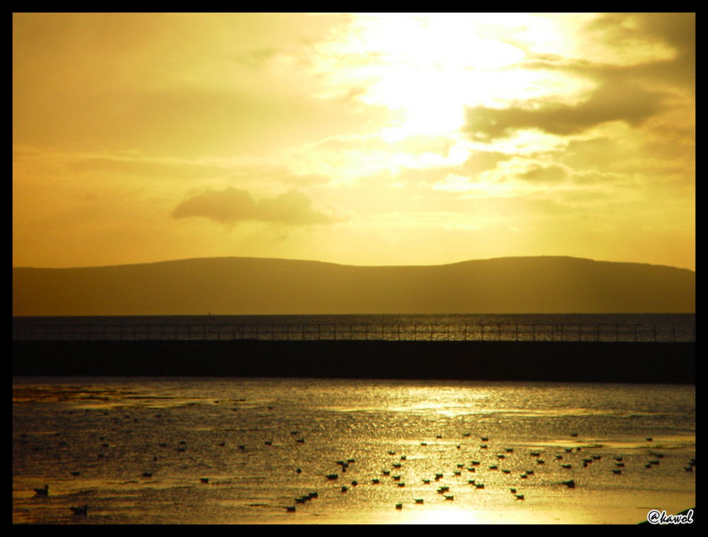 Sonnenuntergang, Irland