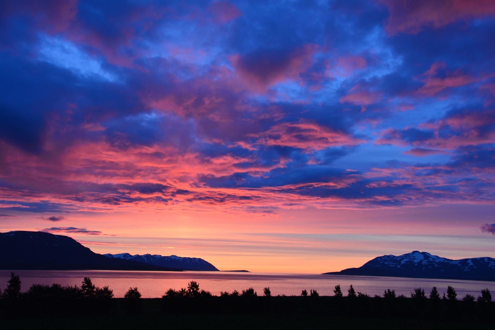 Sonnenuntergang - Island