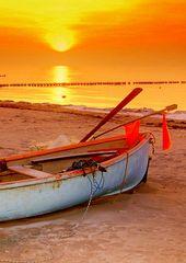 Sonnenuntergang Januar
