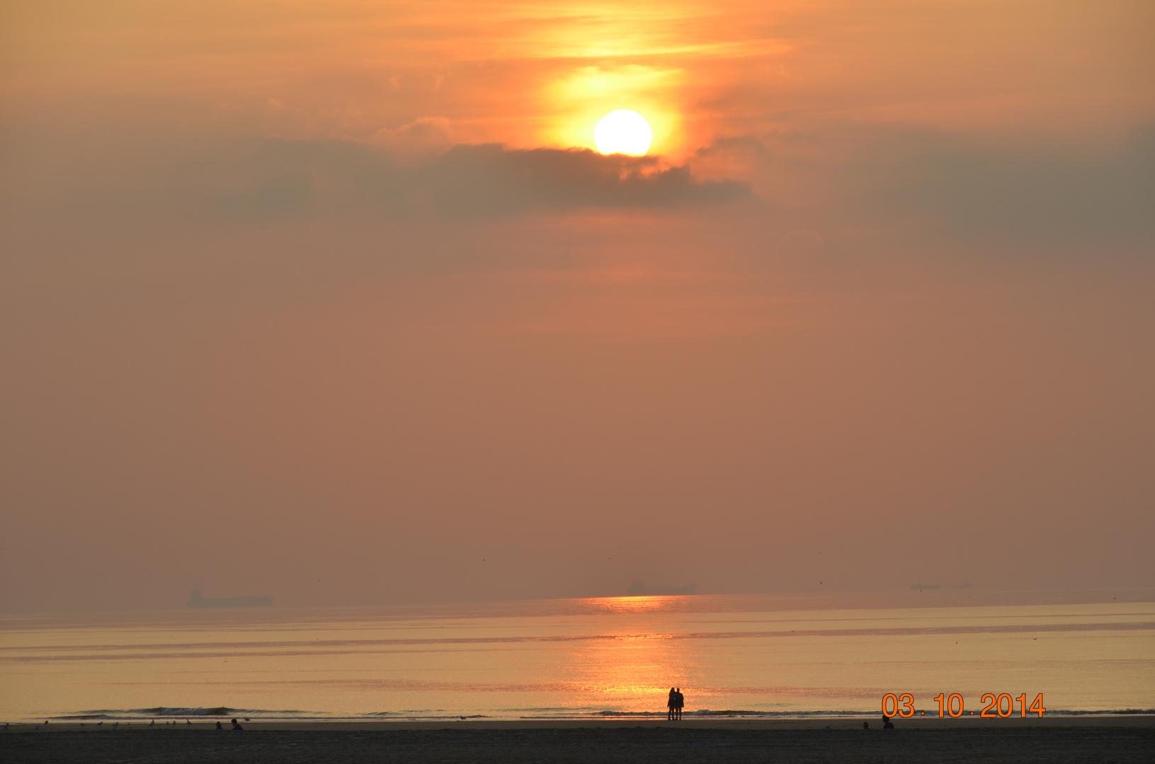 Sonnenuntergang Katwijk