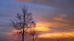 Sonnenuntergang Klagenfurt