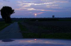 Sonnenuntergang Kolenfeld DRI