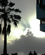 Sonnenuntergang-La Gomera