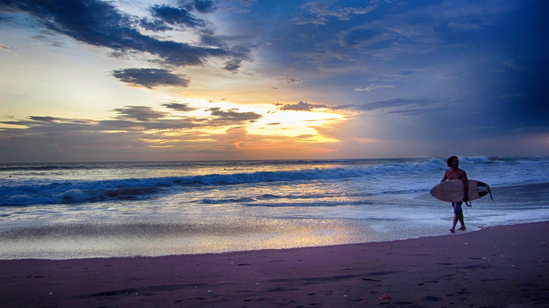 Sonnenuntergang - Las Penitas/ Nicaragua