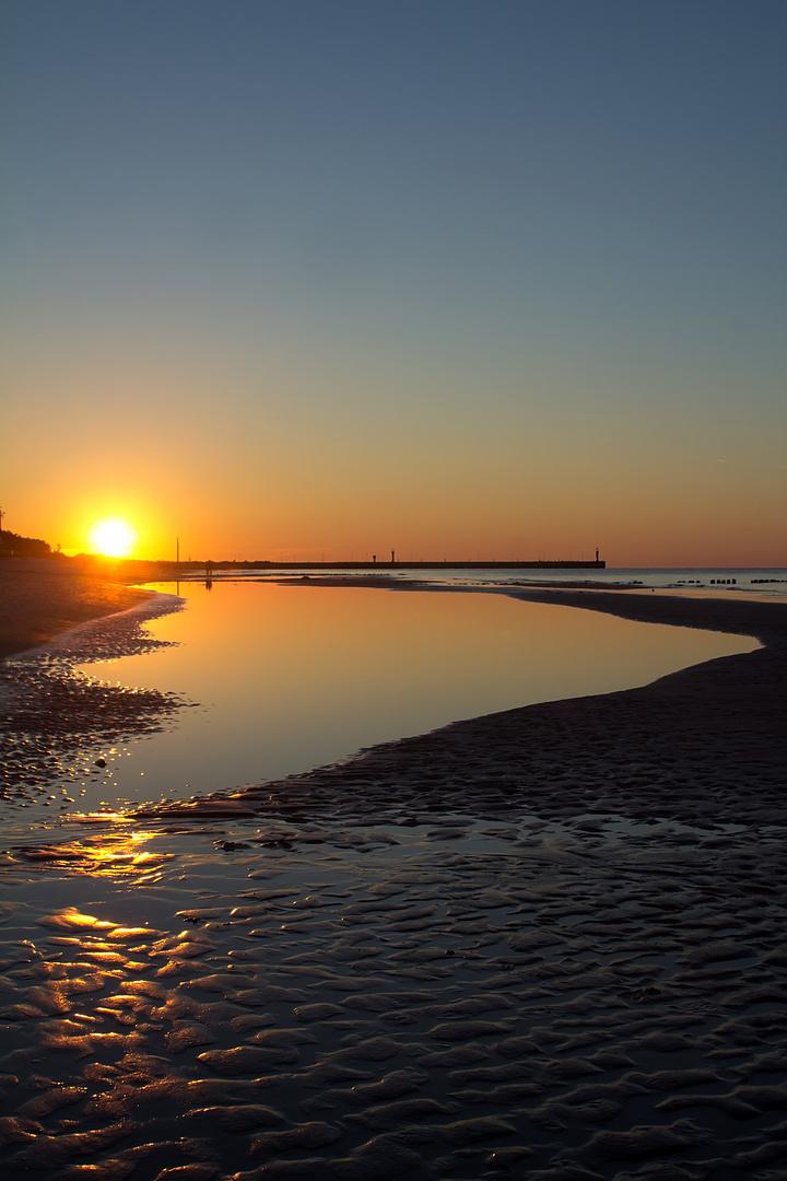Sonnenuntergang Leba (Polen)
