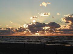 Sonnenuntergang, leicht gedreht