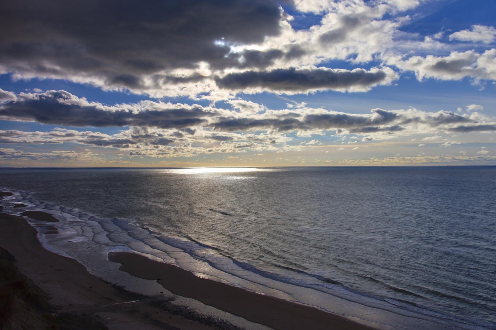 Sonnenuntergang Lönstrup Dänemark