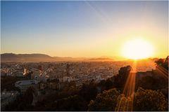 Sonnenuntergang - Malaga