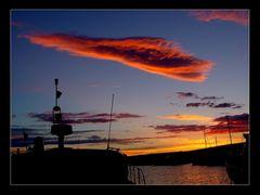 Sonnenuntergang Marina Punat