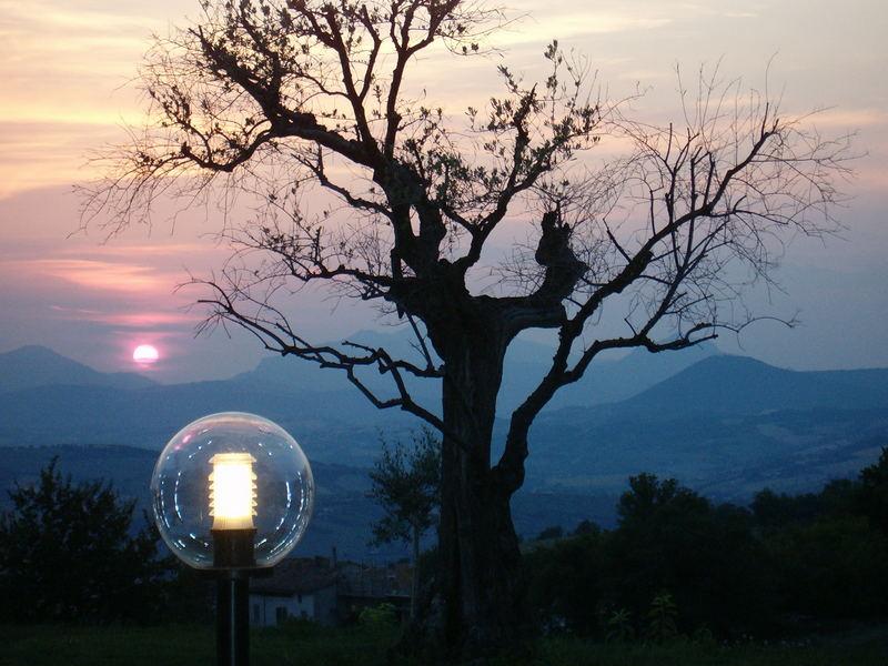 Sonnenuntergang Marken/Italien