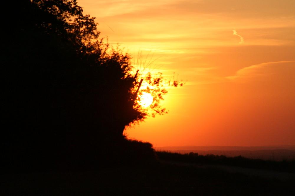 Sonnenuntergang Marloffstein