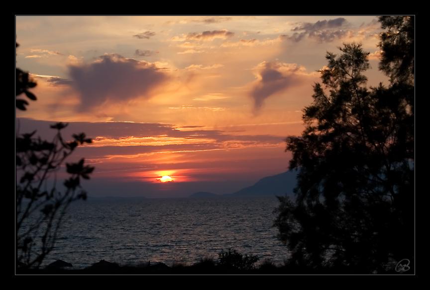 Sonnenuntergang Mastichari (Kos)