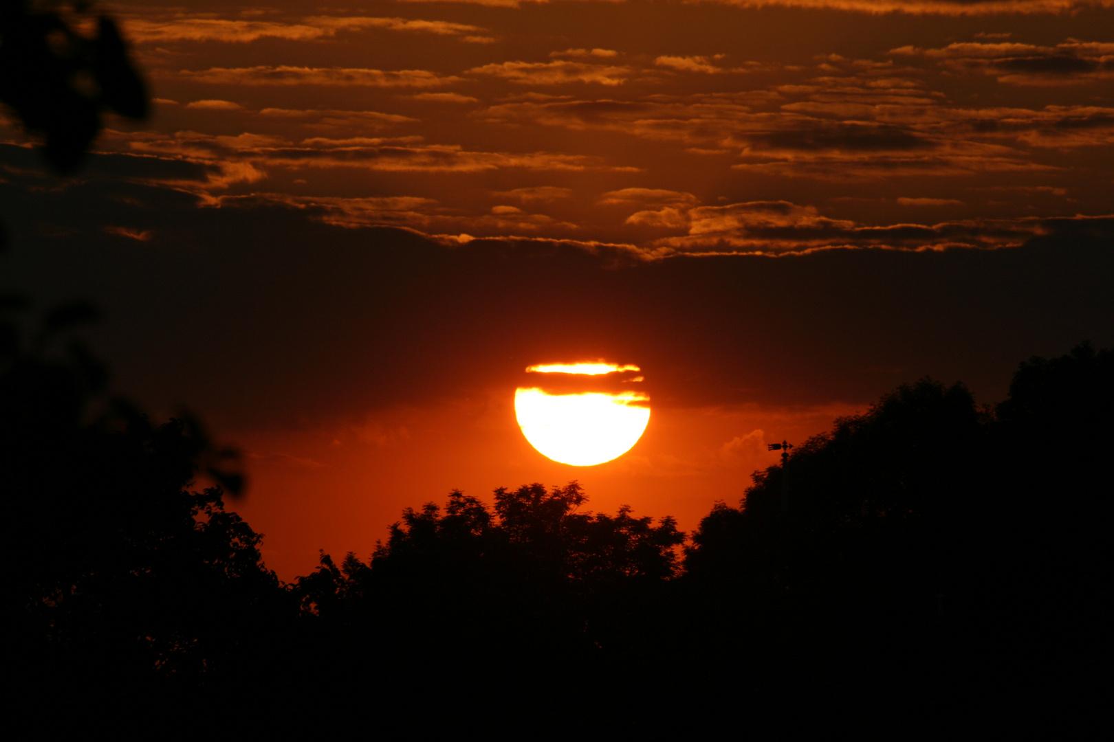Sonnenuntergang - mein Erster