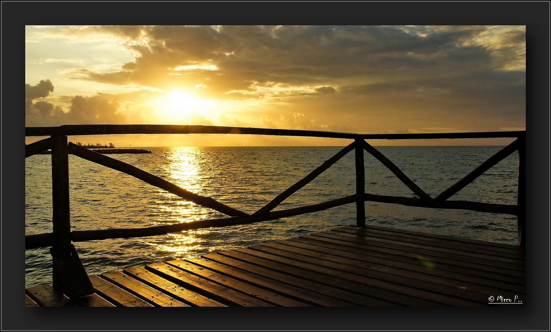 Sonnenuntergang Mexiko