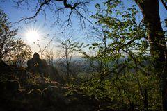 Sonnenuntergang Milseburg