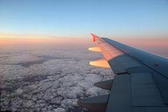 Sonnenuntergang mit Air Berlin