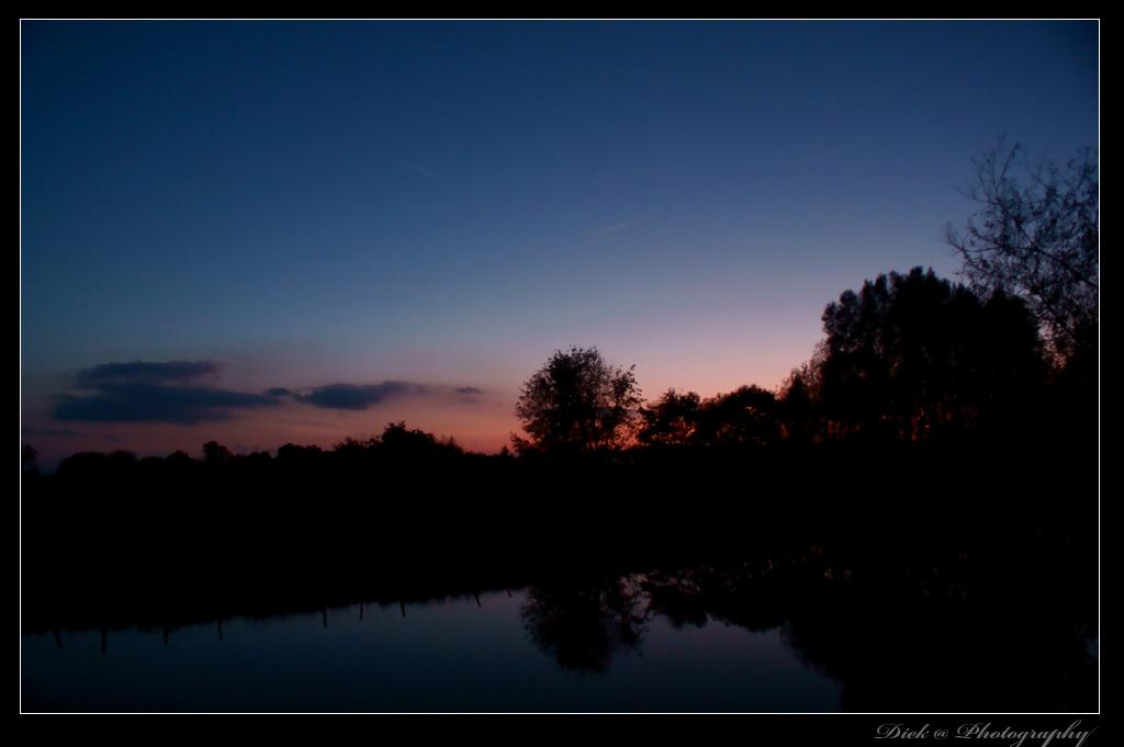 Sonnenuntergang ( mit Polfilter )