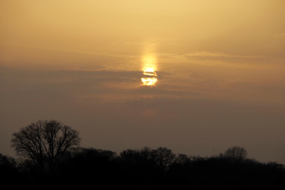 Sonnenuntergang mit Saharastaub - Bild 1