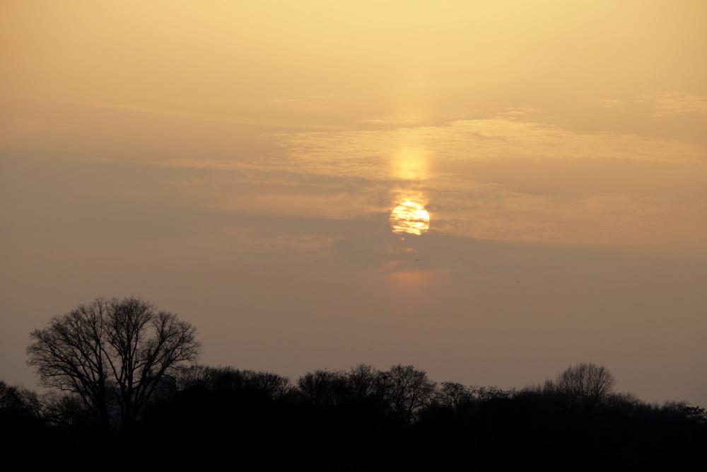 Sonnenuntergang mit Saharastaub - Bild 2