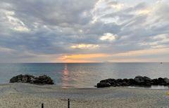 Sonnenuntergang nahe Capo Vaticano