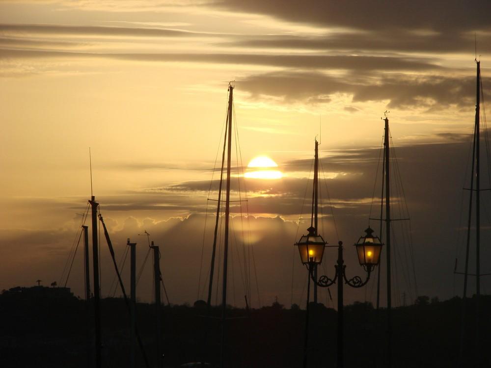 Sonnenuntergang Napoli