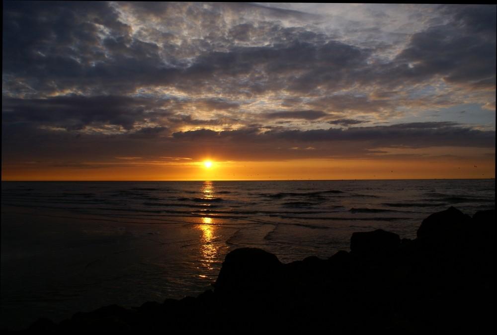 Sonnenuntergang Nordsee Teil 2