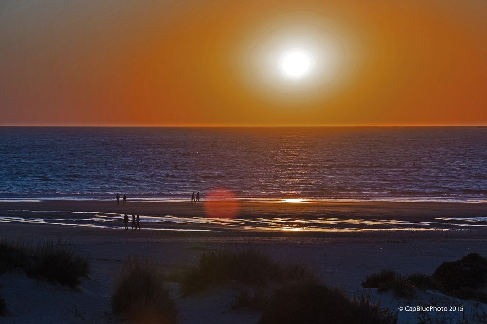 Sonnenuntergang Novo Sancti Petri
