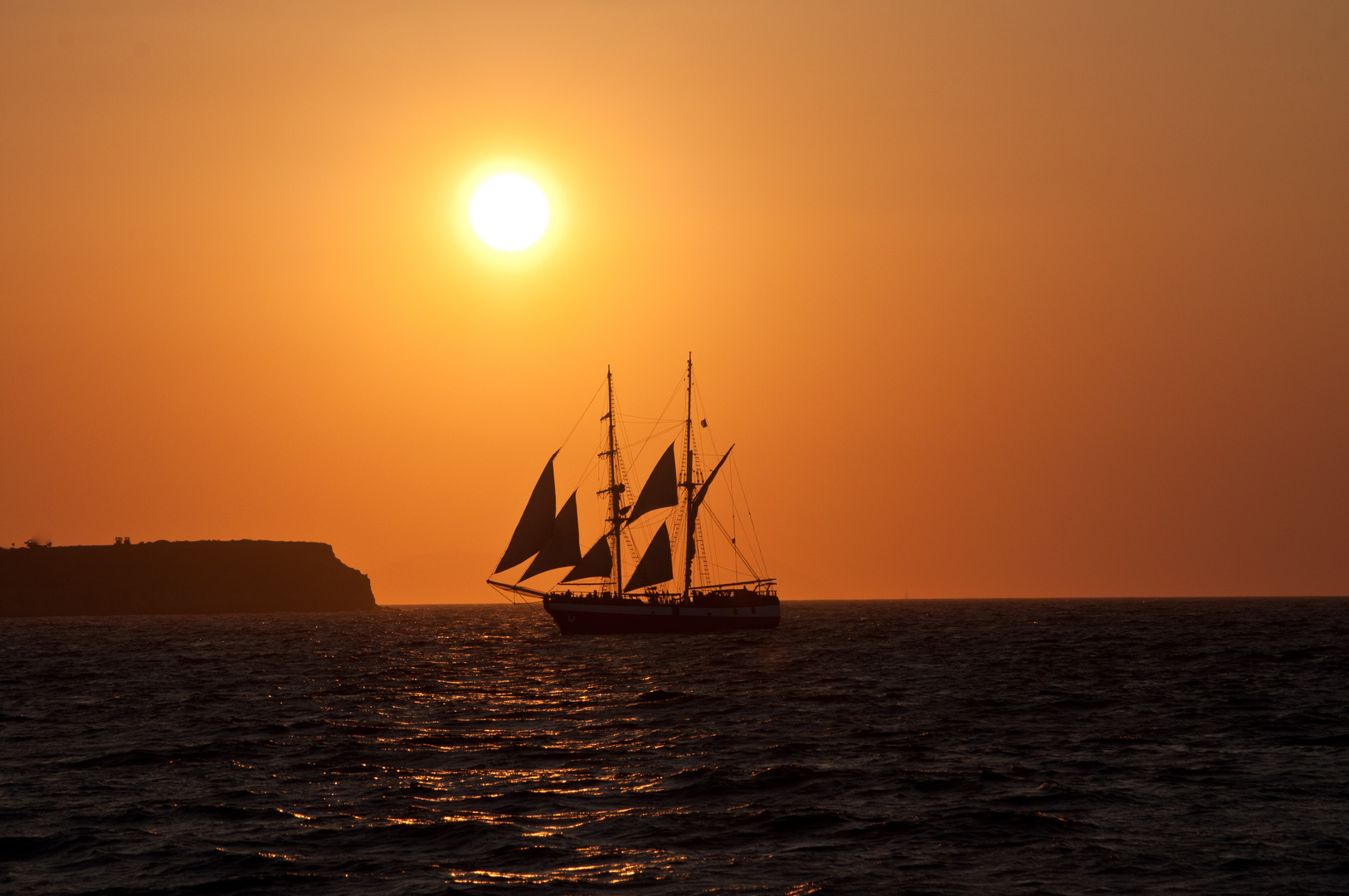 Sonnenuntergang Oia Santorini