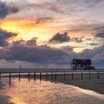 Sonnenuntergang Ordinger Strand 3