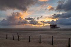 Sonnenuntergang Ordinger Strand 4