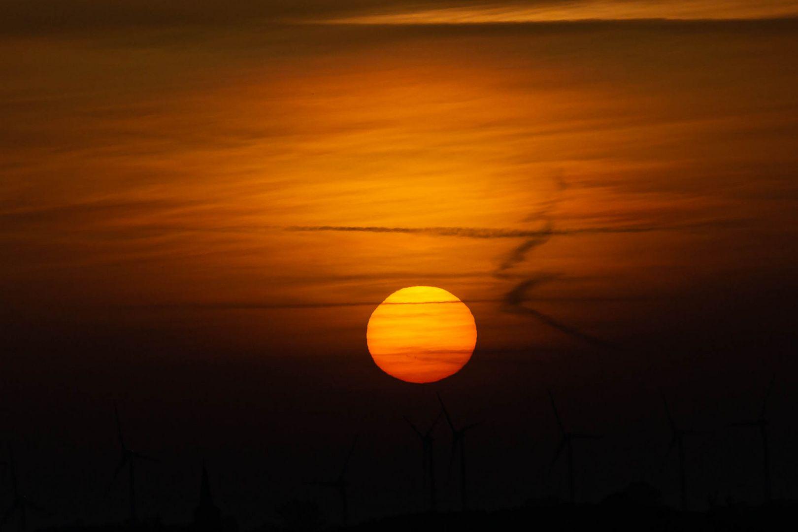 Sonnenuntergang - Ostfriesland - November 2020