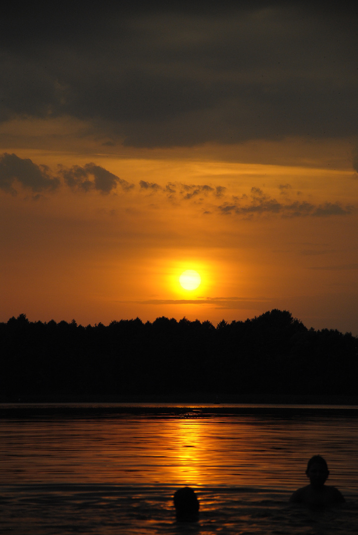 Sonnenuntergang Ostpreußen 2013