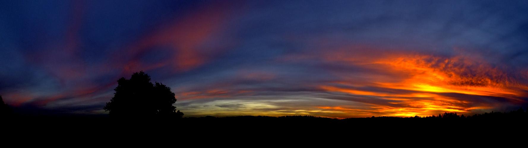 Sonnenuntergang Pano
