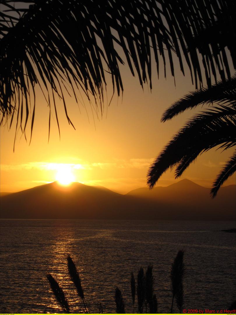 Sonnenuntergang Puerto del Carmen
