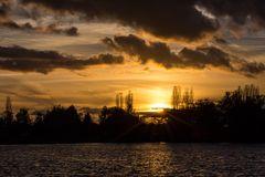 Sonnenuntergang Rhodes