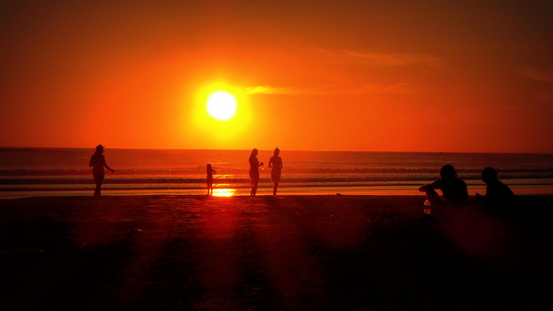 Sonnenuntergang - San Juan del Sur/ Nicaragua