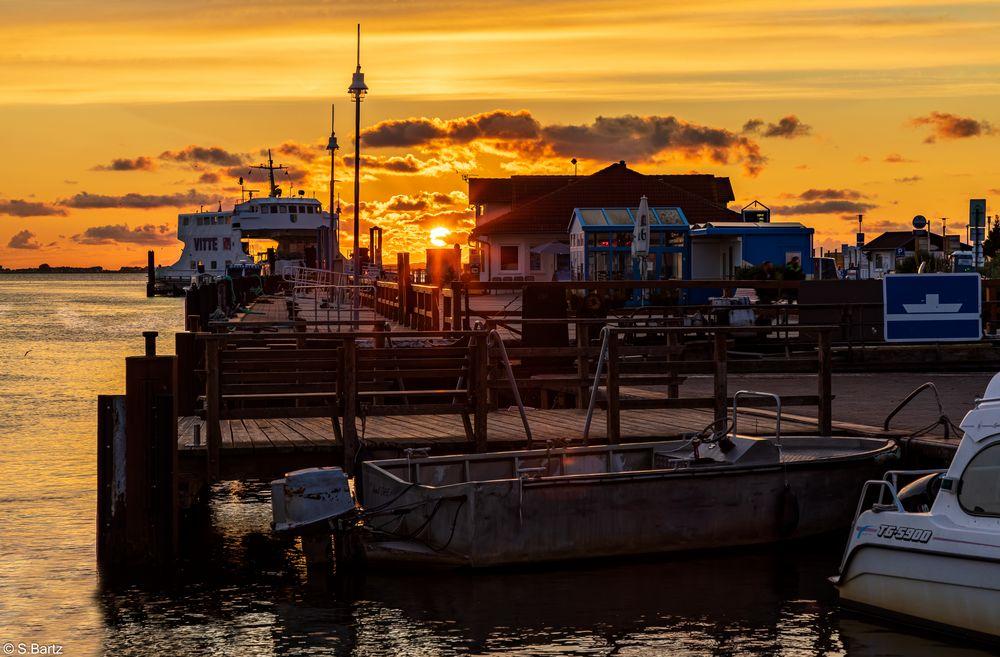 Sonnenuntergang Schaprode (1)