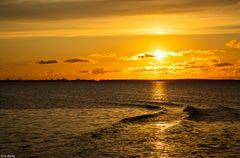 Sonnenuntergang Schaprode (2)