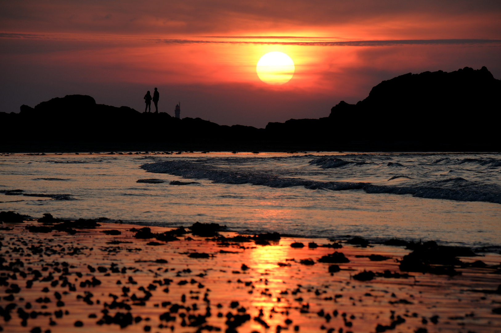 Sonnenuntergang St. Malo 2014
