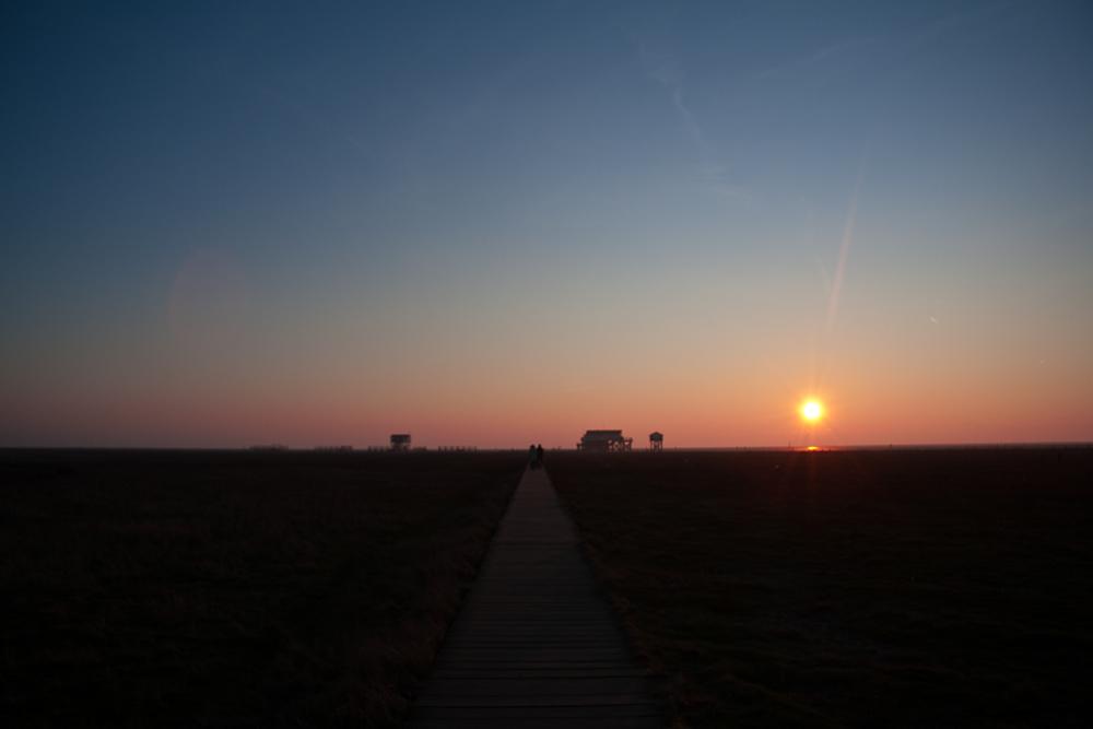 Sonnenuntergang St. Peter-Ording