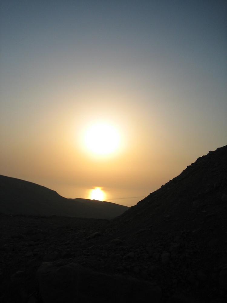 Sonnenuntergang Sultanats Oman (VAE)