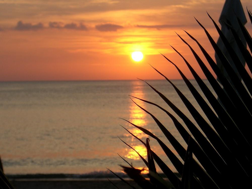 Sonnenuntergang Thailand (Saladan/Krabi)