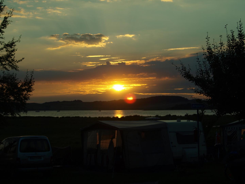 Sonnenuntergang Thiessow 2010