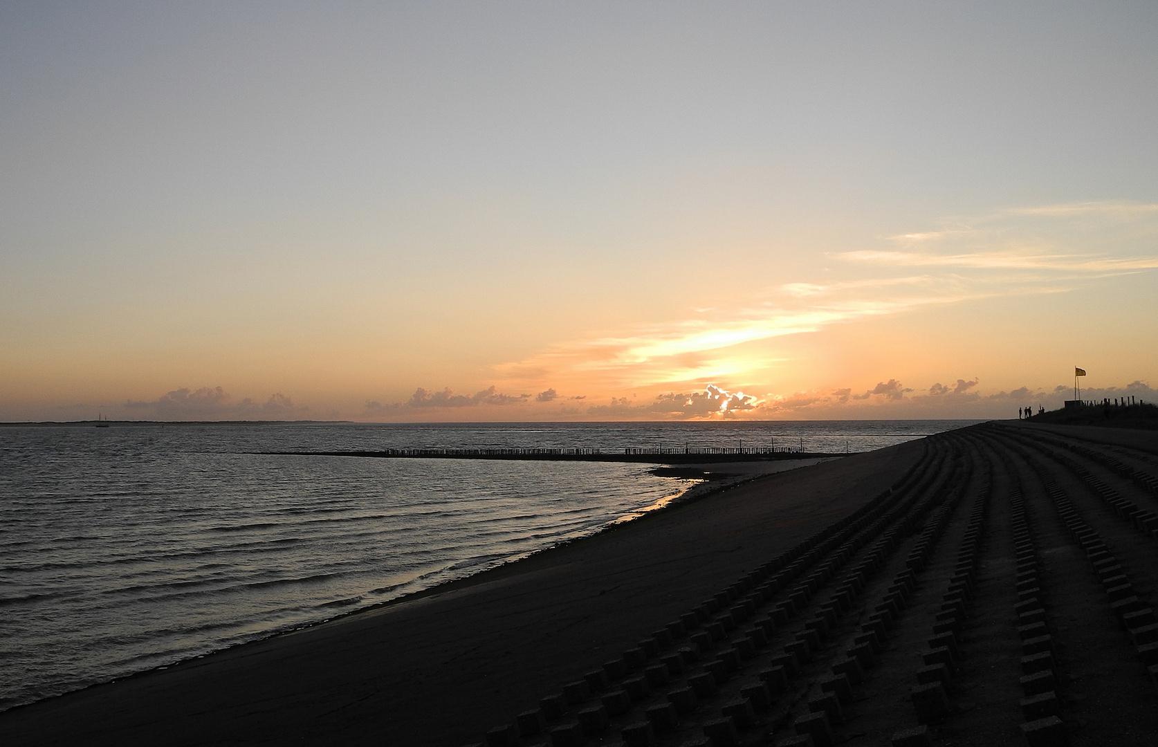 Sonnenuntergang Westen