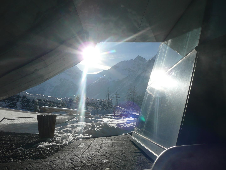 Sonnenuntergang Tirol