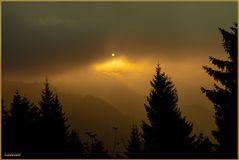 Sonnenuntergang über dem Kehlstein