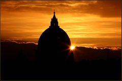 Sonnenuntergang über dem Vatican