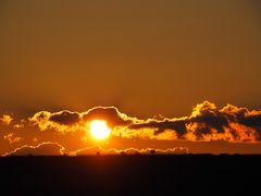 Sonnenuntergang über Nierstein