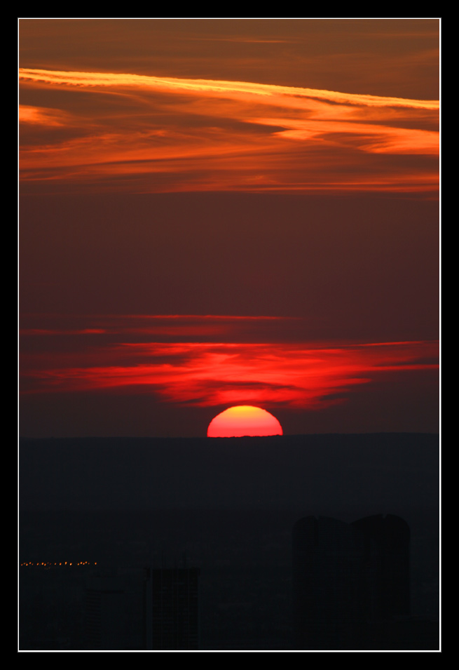 Sonnenuntergang über Paris Nr.1